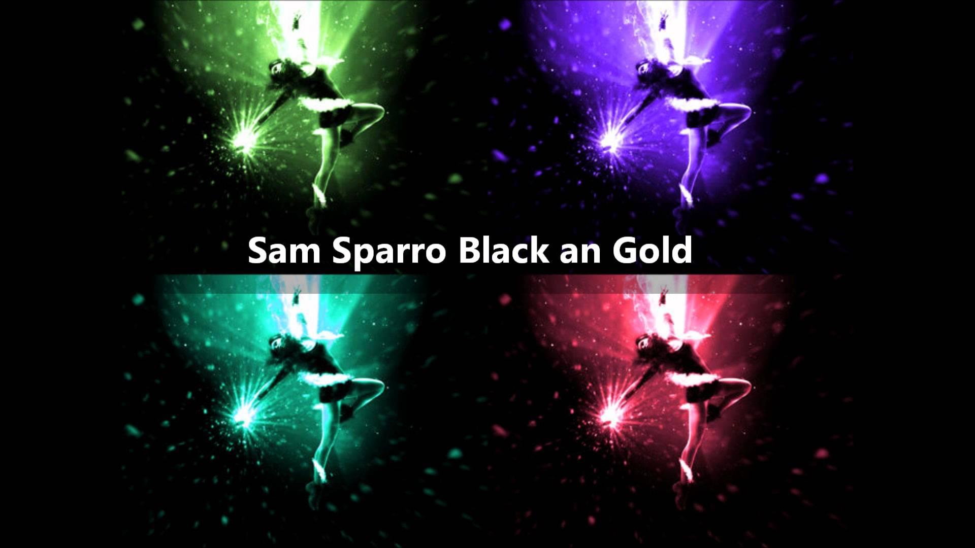 Black And Gold Sam Sparro 36 Wide Wallpaper