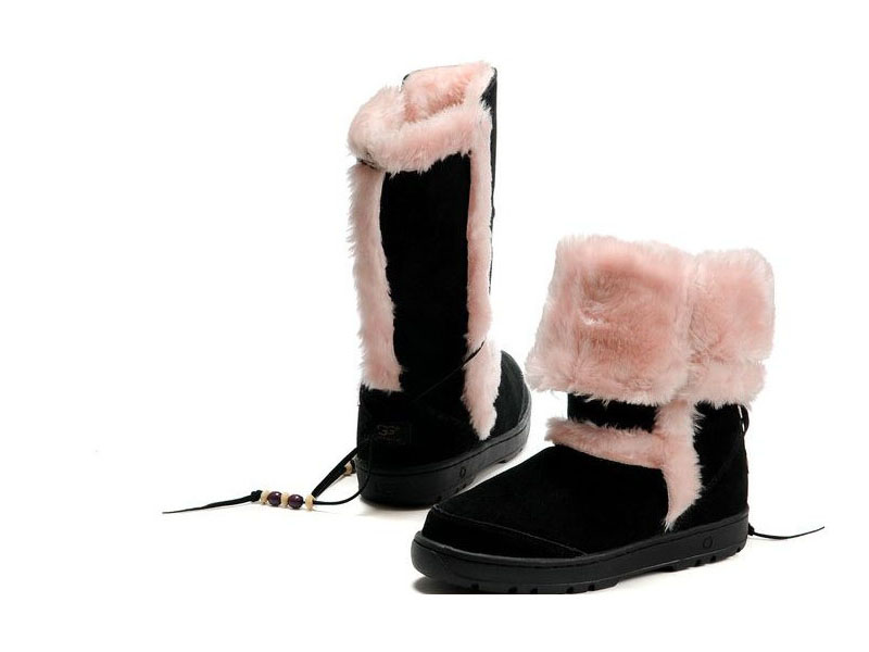 Black And Pink Boots 24 Hd Wallpaper