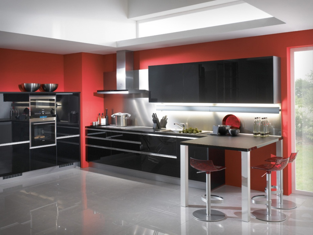 Image result for wallpaper for walls in red colour for kitchen