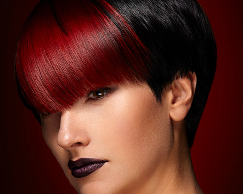 Black And Red Hairstyle Ideas 1 Free Wallpaper