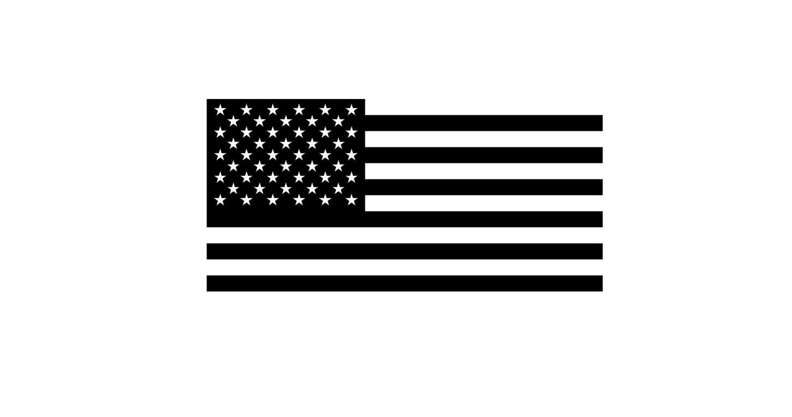 Black And Silver American Flag 8 Cool Wallpaper