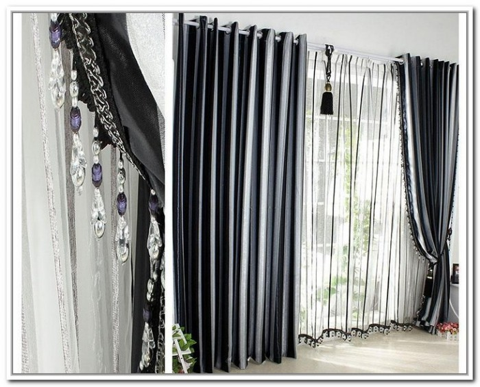 black and silver curtains 11 cool hd wallpaper
