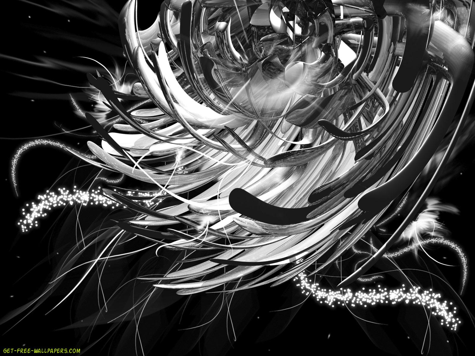 Black And Silver Wallpaper 2 Desktop Wallpaper