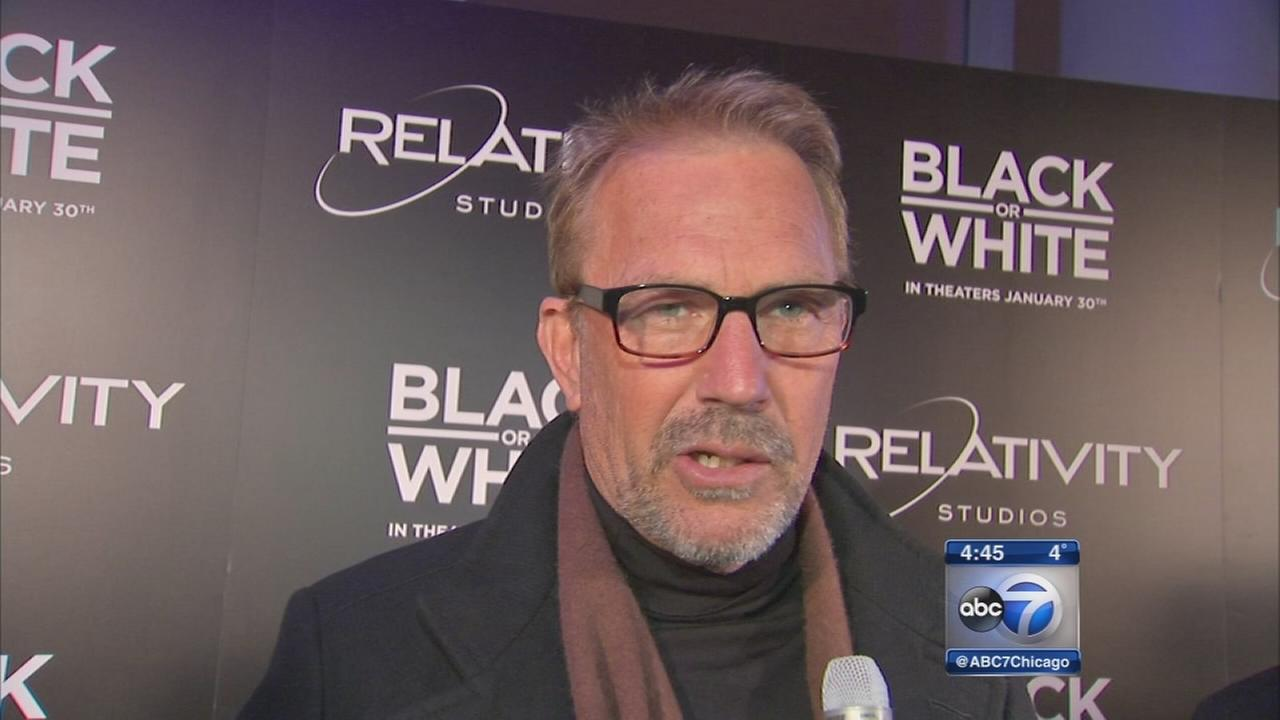 Black And White Kevin Costner 23 Widescreen Wallpaper