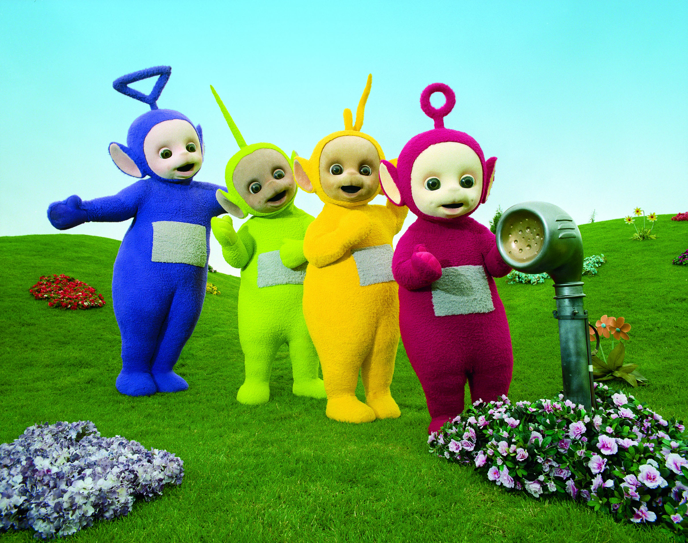 Black And White Teletubbies 21 High Resolution Wallpaper