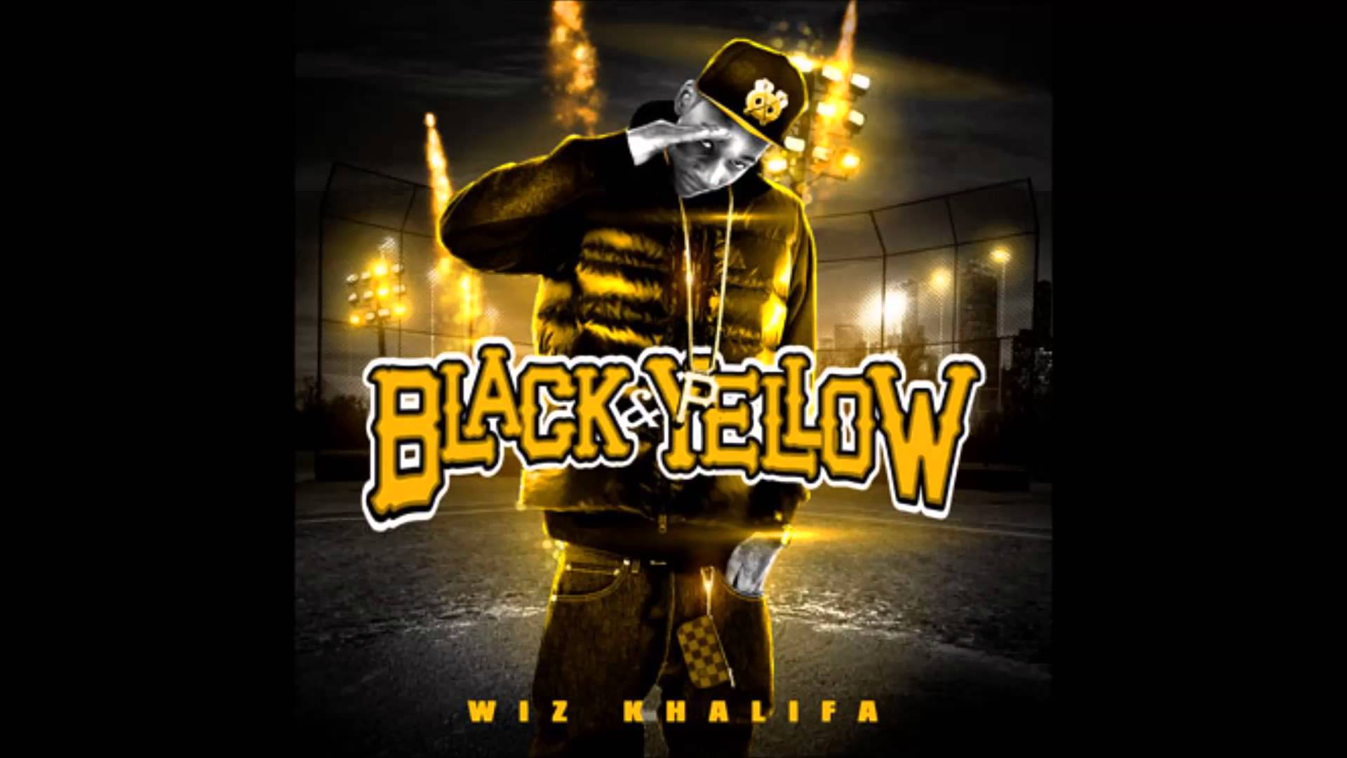wiz khalifa black and yellow wallpaper