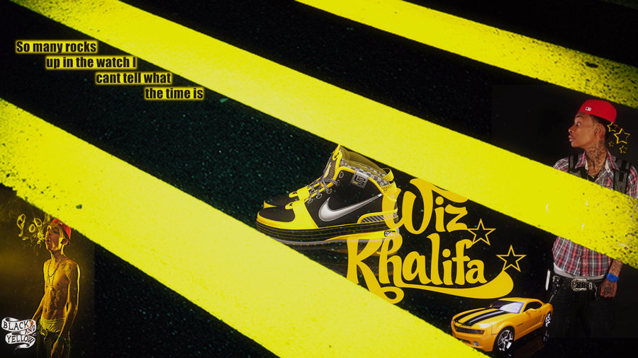 black and yellow high - photo #27