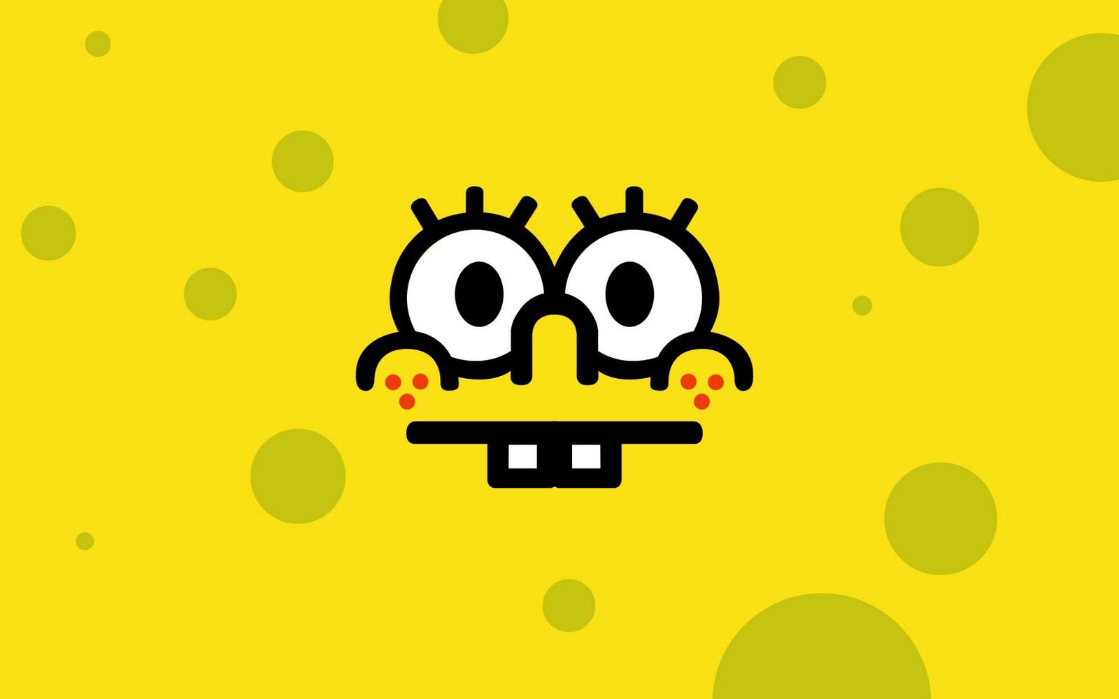 Black And Yellow Spongebob 13 Desktop Wallpaper