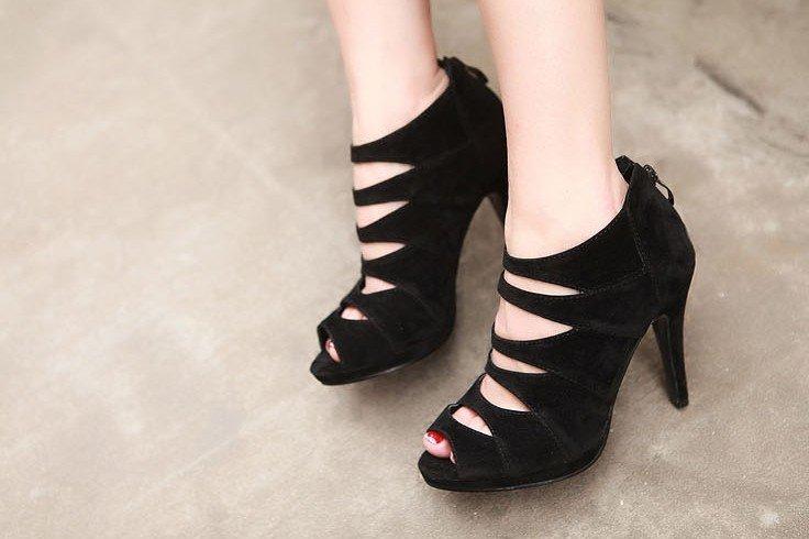 black dress pink shoes 11 cool wallpaper
