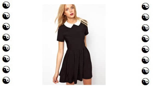 Black and white dresses store