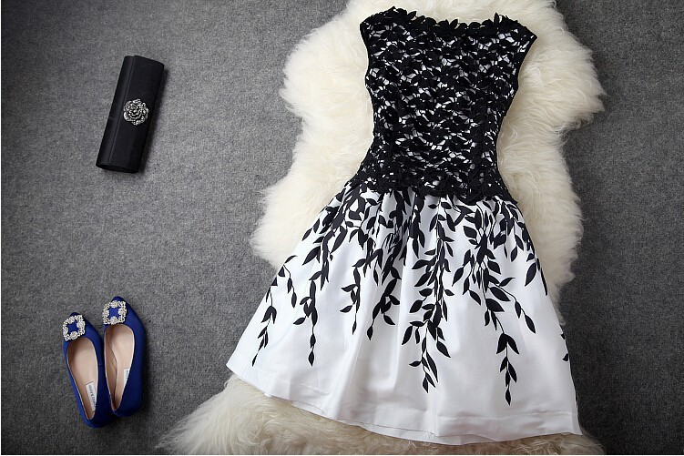 Cheap women black and white dresses 16 widescreen for Cheap black wallpaper