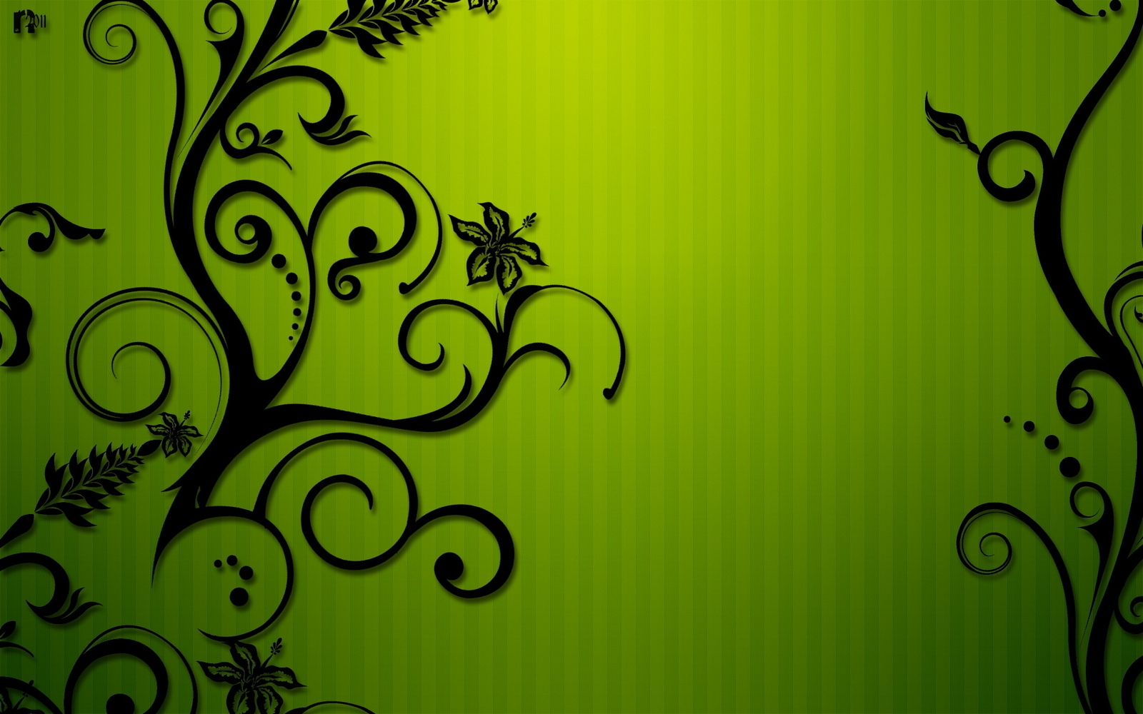 Green And Black Colors 9 Background