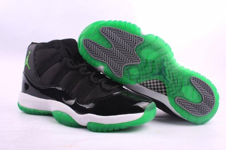 Green And Black Jordans 12 Background