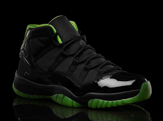 Green And Black Jordans 17 Cool Hd Wallpaper
