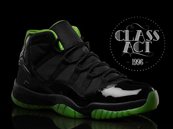 Green And Black Jordans 19 Free Hd Wallpaper