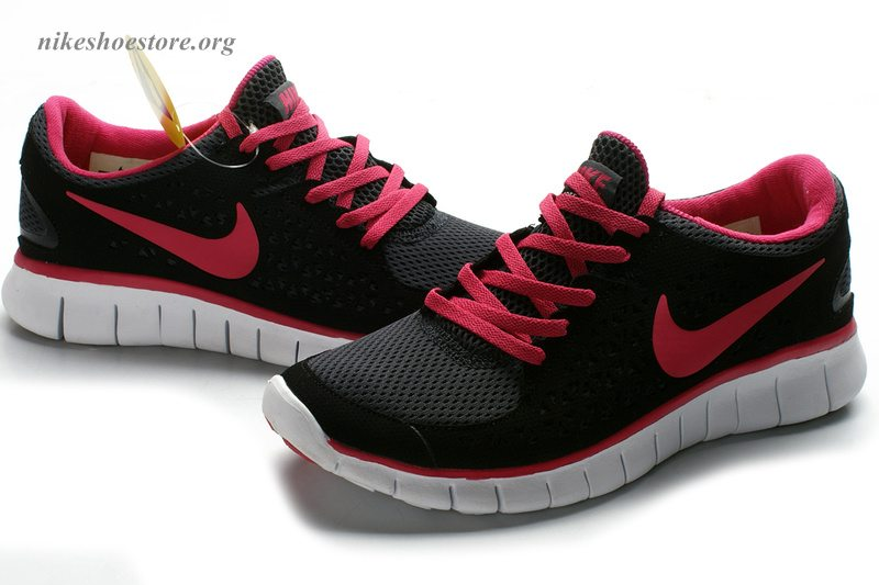 Hot Pink And Black Shoes 25 Background Wallpaper