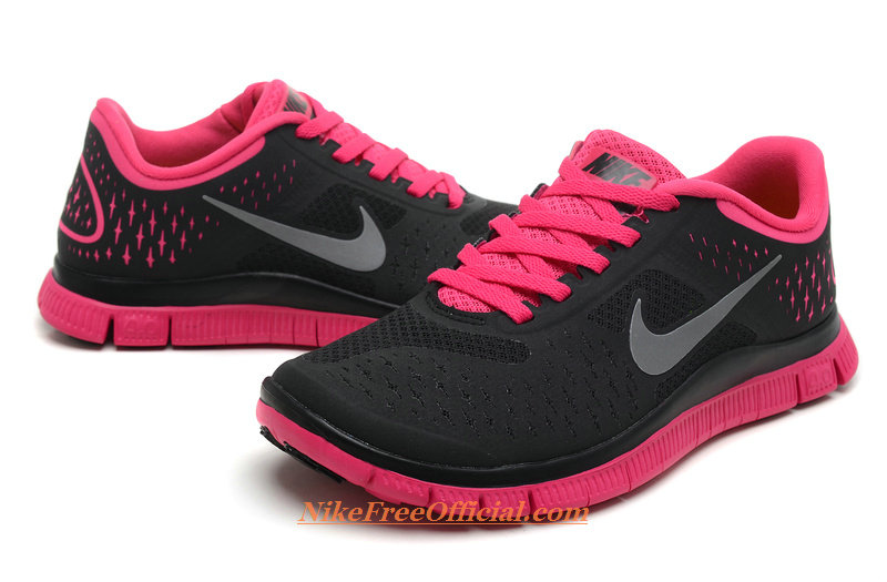 Hot Pink Black Shoes 18 Wide Wallpaper