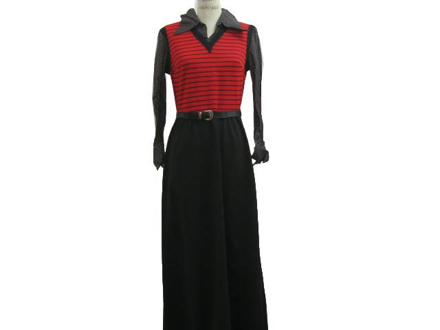 Long Plain Black Dress 10 Widescreen Wallpaper