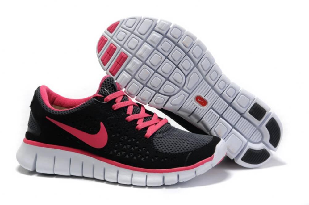 Nike Flex Kjøre Kvinners Joggesko - Svart / Rosa Bakgrunn JtVzNnyA