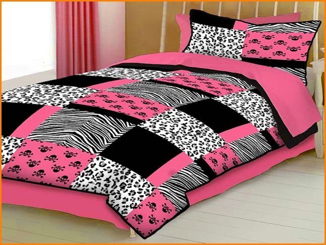 Pink And Black Bedding 13 Free Wallpaper