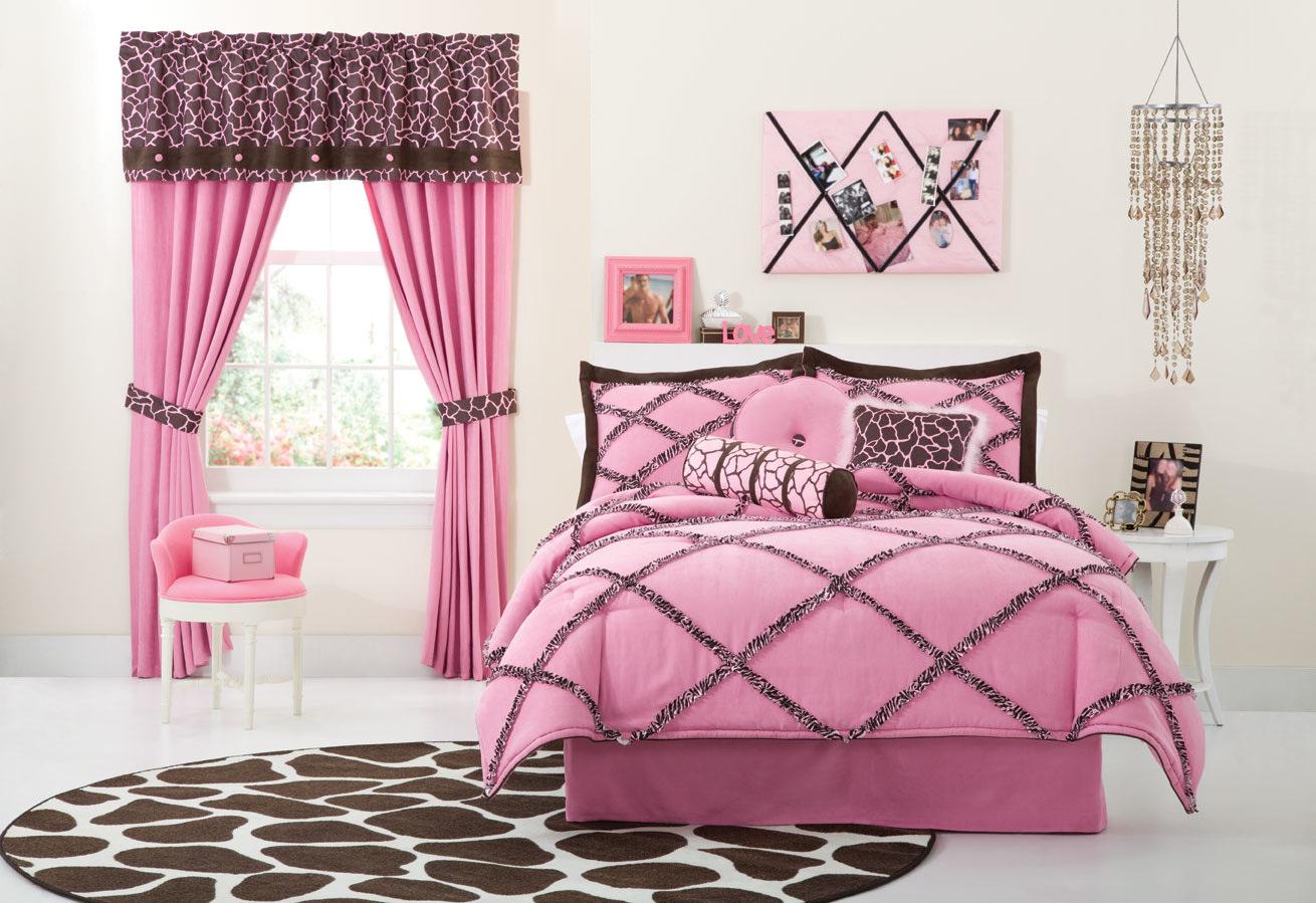 Pink and black bedding - Pink And Black Bedding 3 High Resolution Wallpaper