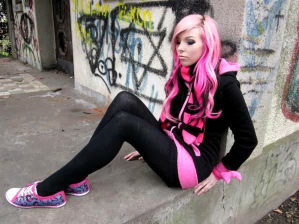 Pink and black hair 11 desktop background hdblackwallpaper pink and black hair 11 desktop background voltagebd Gallery