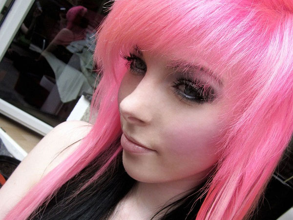 Pink And Black Hair 14 High Resolution Wallpaper ...