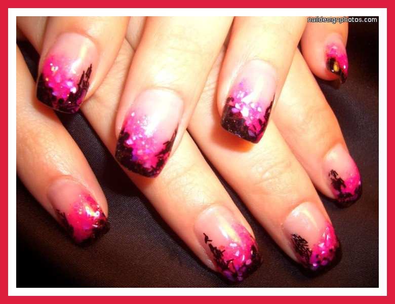 Pink and black nail designs 30 hd wallpaper hdblackwallpaper pink and black nail designs 30 hd wallpaper prinsesfo Image collections