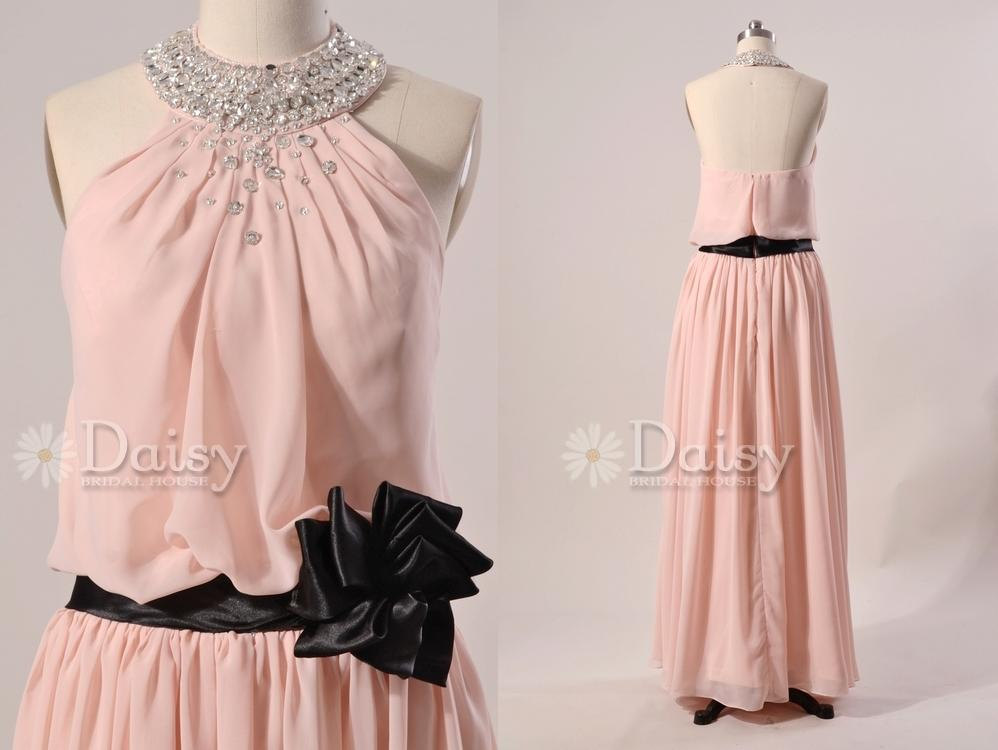 Pink And Black Prom Dresses 2 Wide Wallpaper