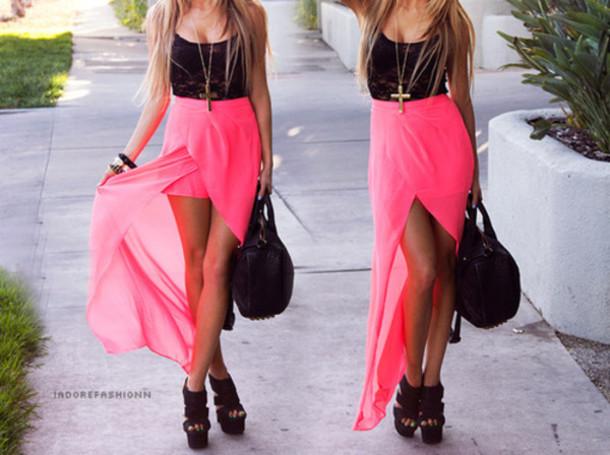 Pink And Black Prom Dresses 22 Desktop Background