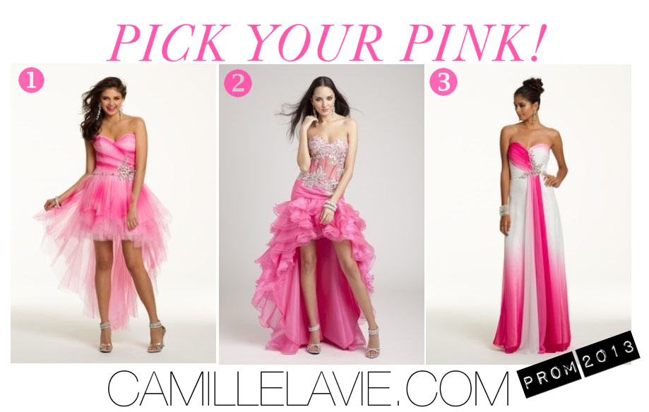 Pink And Black Prom Dresses 30 Background