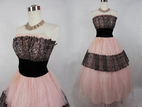 Pink And Black Prom Dresses 31 Background