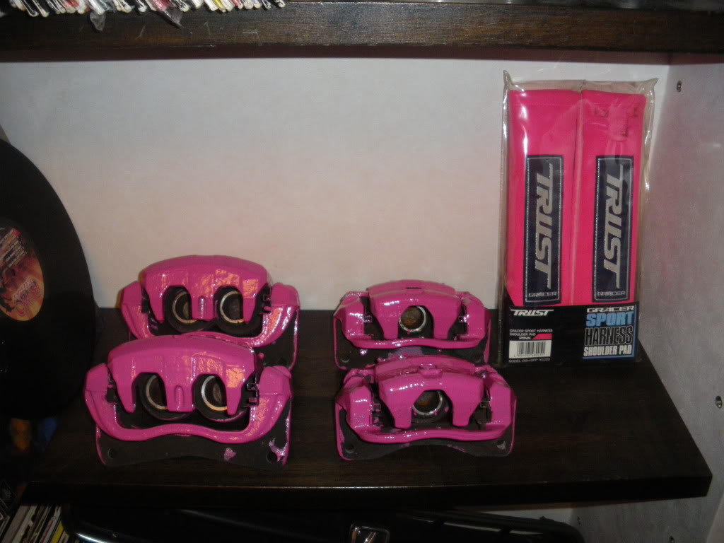 Pink And Black Rims 1 Desktop Background