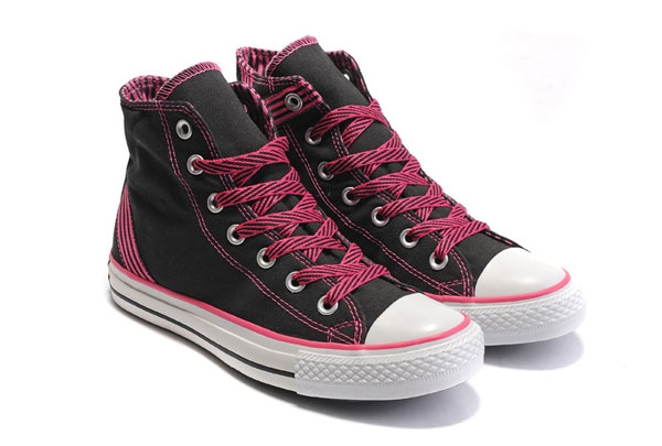 Pink And Black Shoes 36 Background