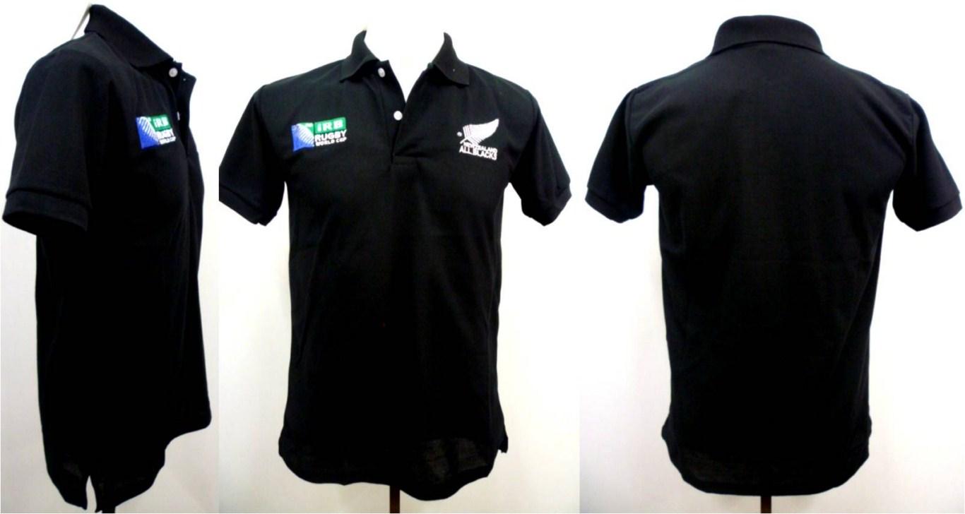 Plain Black Polo Shirt 19 Widescreen Wallpaper