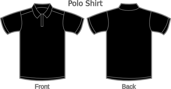 Plain Black Polo Shirt 23 Desktop Wallpaper