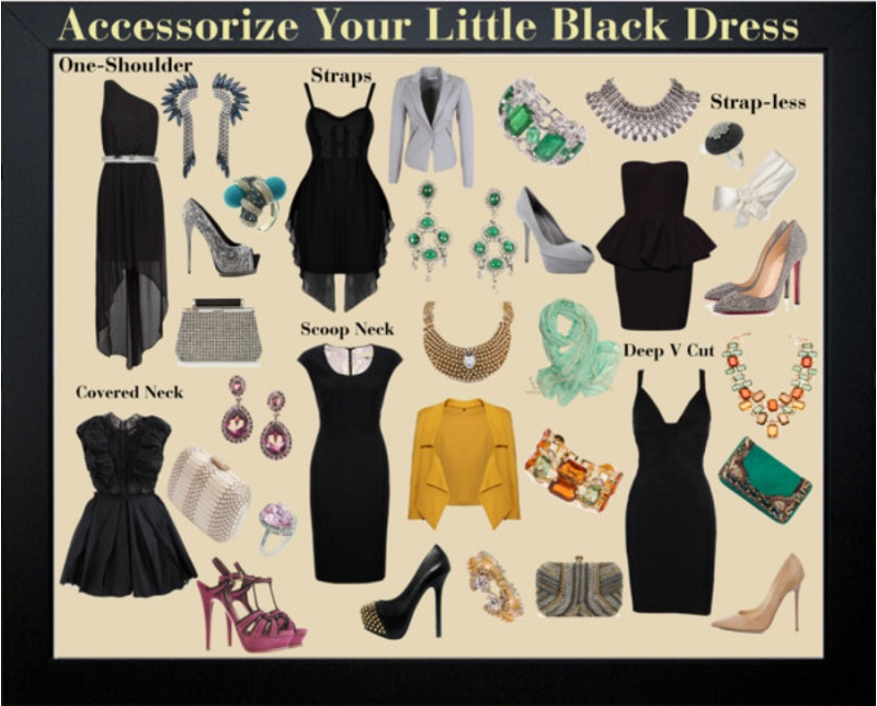 Plain Little Black Dress 13 High Resolution Wallpaper