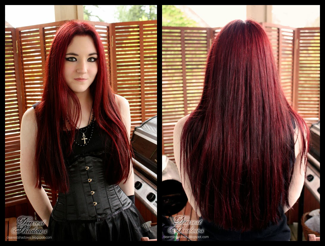 Red And Black Hair Dye 6 Free Hd Wallpaper