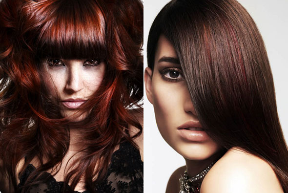 Get Quotations Hair Colour Permanent Cream Dye Dark Red Violet