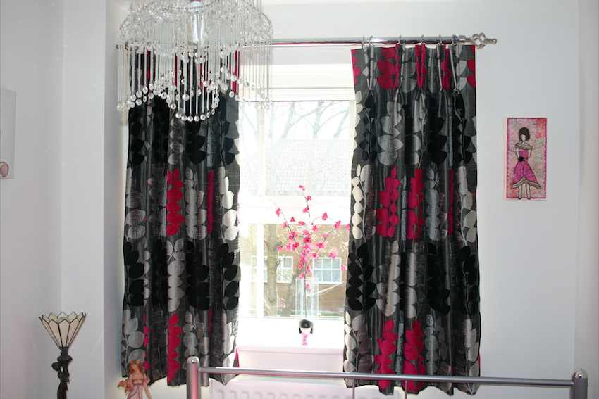 Nice Silver And Black Valances 22 Background