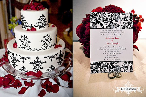 Red And Black Wedding. Black And Red Wedding Tables Red White ...
