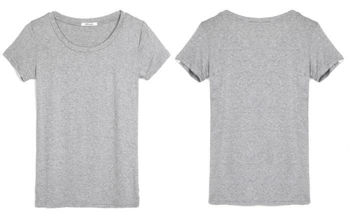 plain grey t shirt front and back wwwpixsharkcom