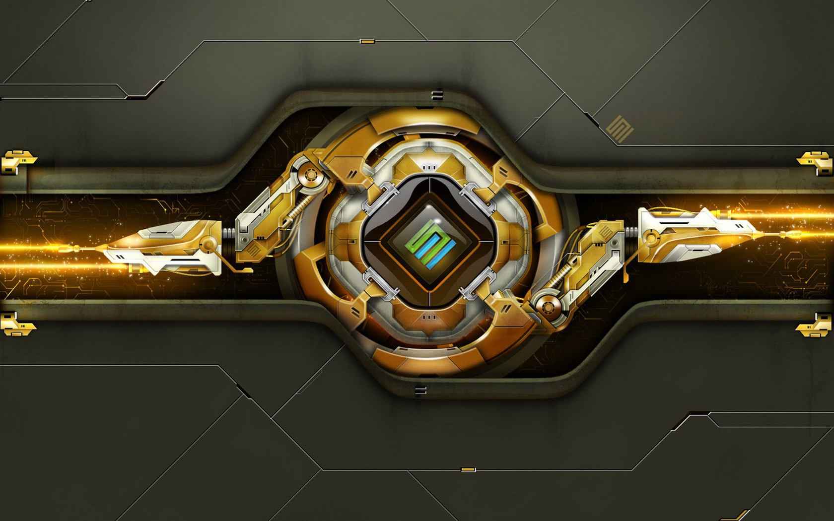 Black And Gold Abstract Wallpaper  9 Hd Wallpaper