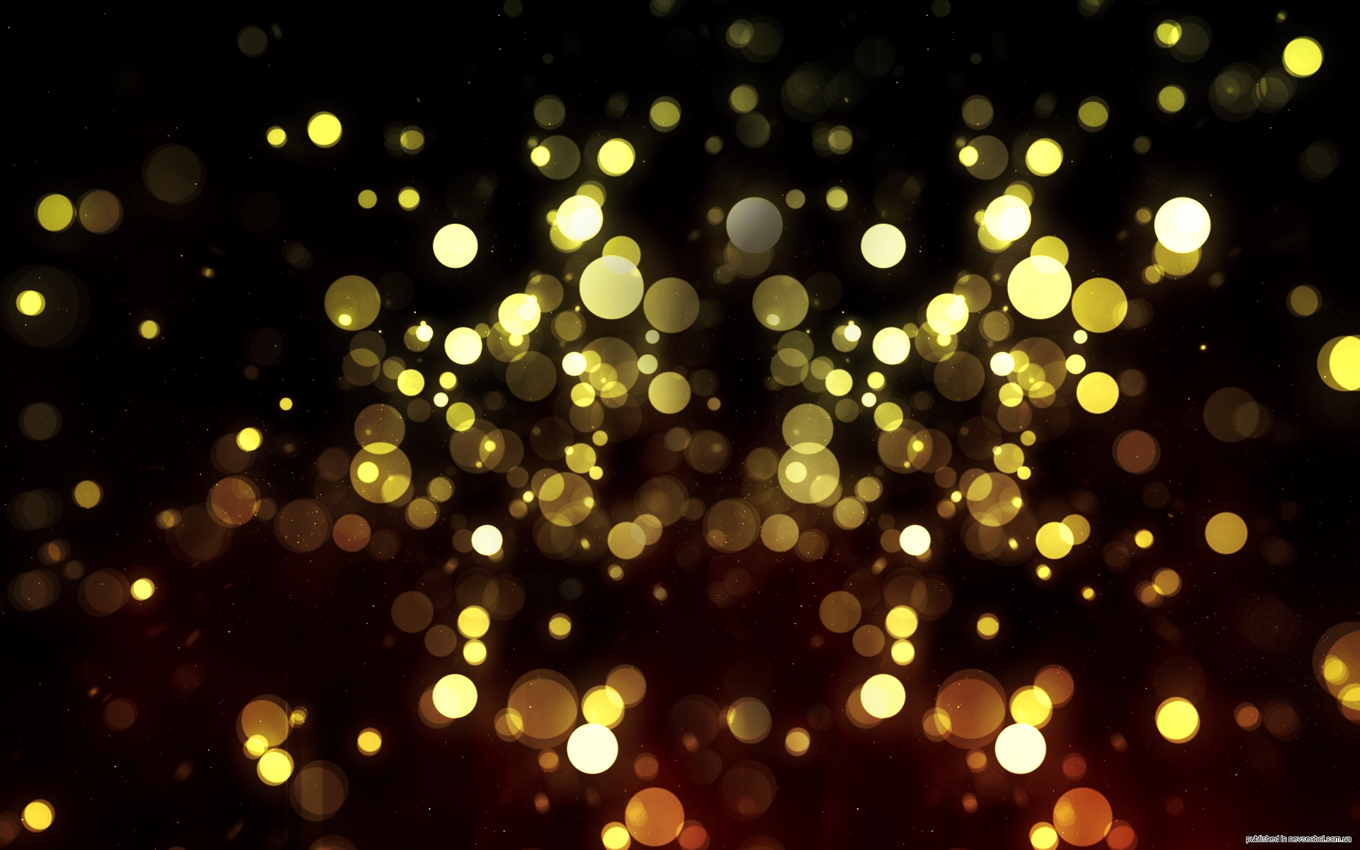 Black And Gold Background 13 Desktop Background