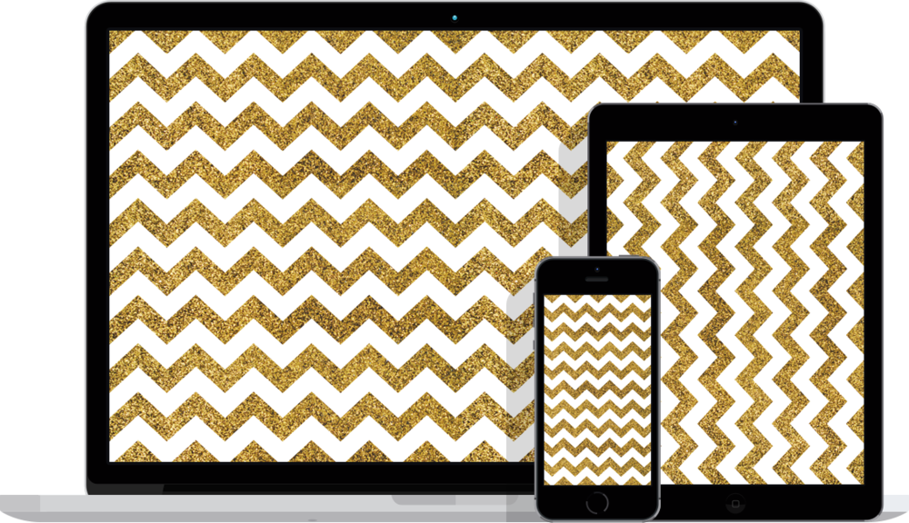 Black And Gold Chevron Wallpaper 10 Wide