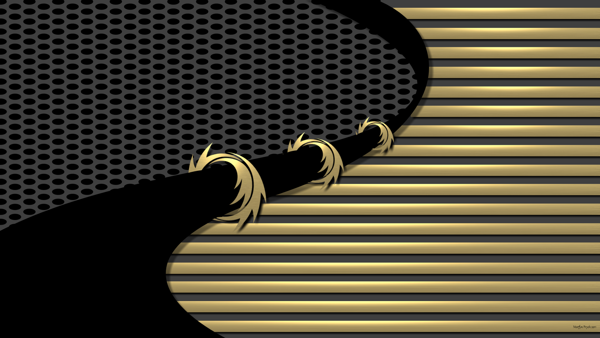 Black and gold chevron wallpaper 8 background for Dark blue and gold wallpaper