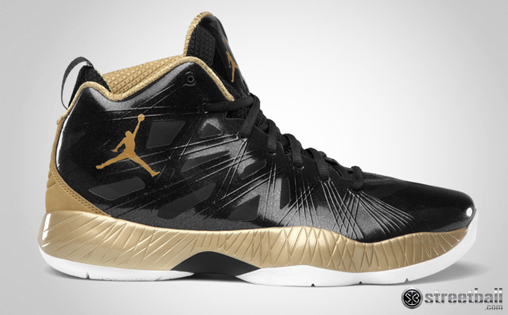 shoes gold and black