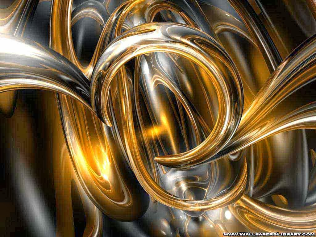 Black And Gold Wallpap...
