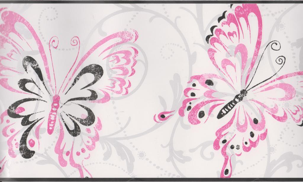 Black And Pink Wallpaper Borders 1 Cool Wallpaper