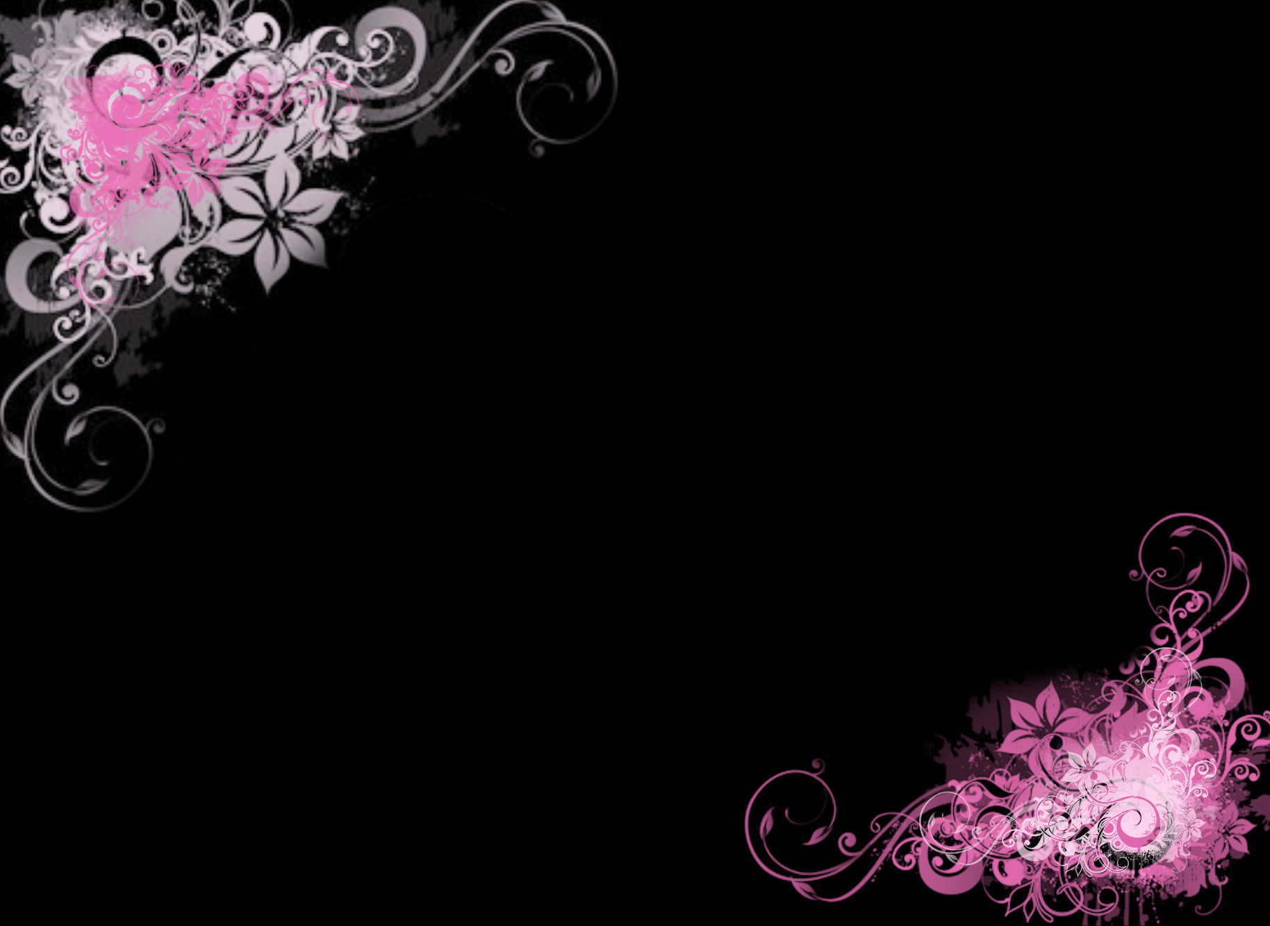 black and pink wallpaper 43 hd wallpaper